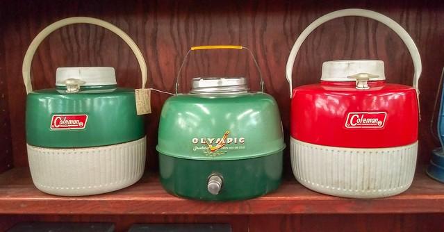 Vintage coolers