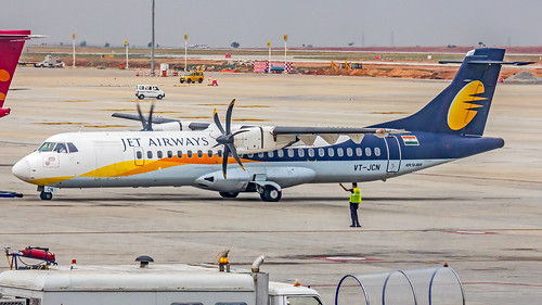 Jet Airways Aerospatiale ATR72 VT-JCN Bangalore (BLR/VOBL)