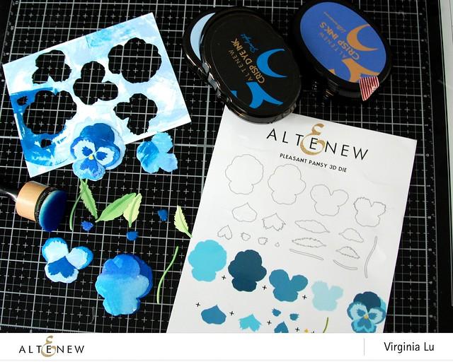 Altenew-PleasantPansy3DDie-DotArtStampSet-Virginia#2