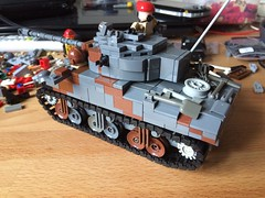 Lego Sherman vc firefly (rear)