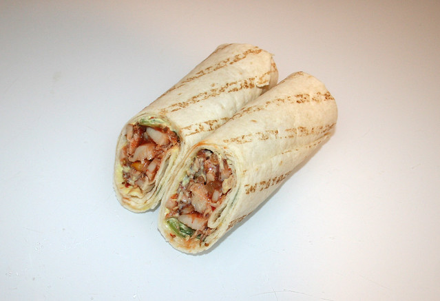 Farm Wraps Roasted Chicken