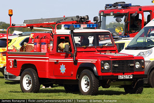 G792 FWP | Land Rover Defender 110  | Airfield Volunteer Fire Service