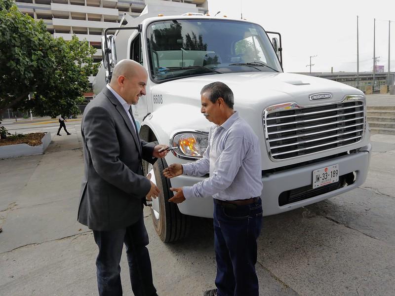 19 de Agosto 2019. Entrega de Vehículos a Servicios Municipales.