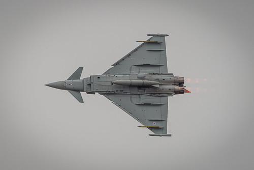 Typhoon ZJ937 at Blackpool Air Show 2019.
