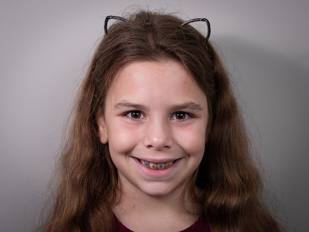 Leah with braces