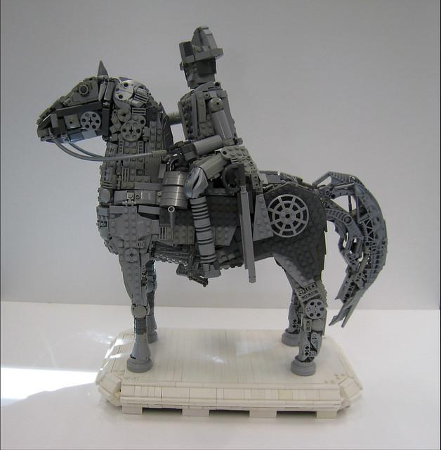 LEGO NAPOLEON STATUE