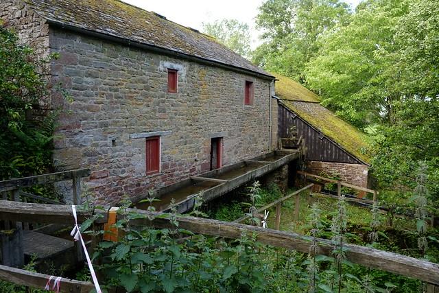 watermill at Acorn Bank..