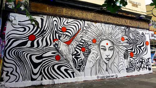 Shoreditch Street Art by Luke Gray.