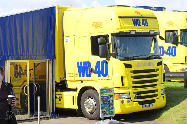 Scania R480 Team WD-40 FX62 BTU