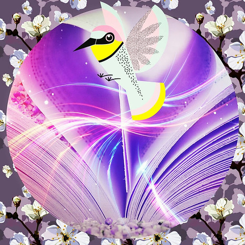 Whimsical Bird of Happiness