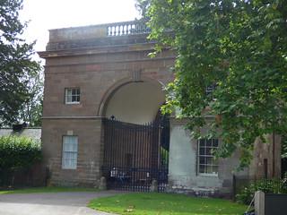 Triumphal Arch at Berrington Hall