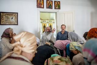 19.08.2019 | Литургия в Хутынском монастыре