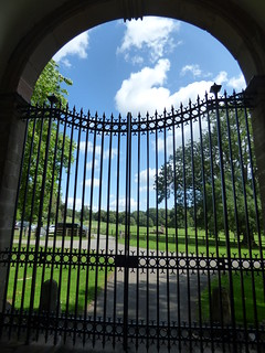 Triumphal Arch at Berrington Hall - gate