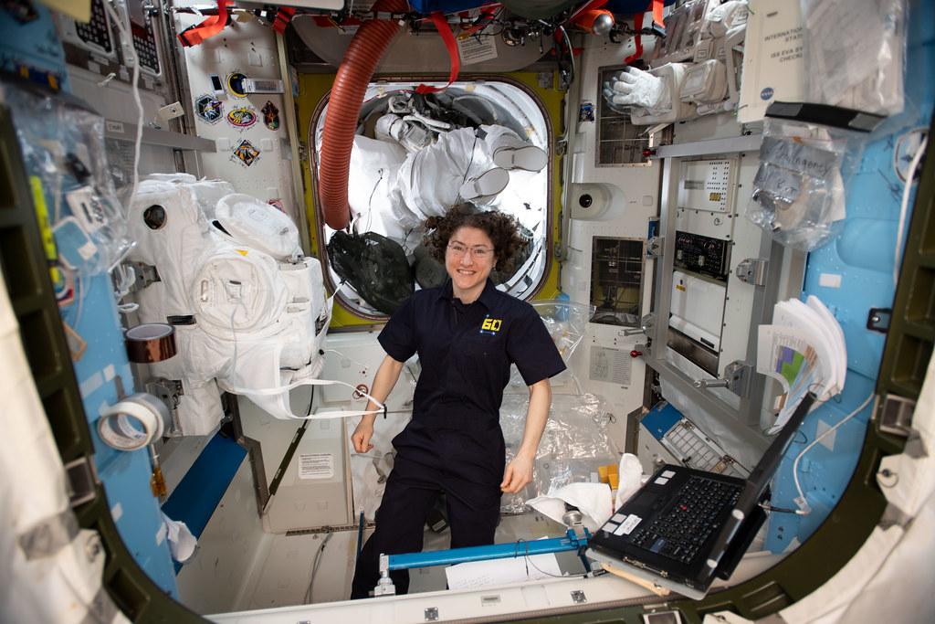 Expedition 60 Flight Engineer Christina Koch of NASA | Flickr