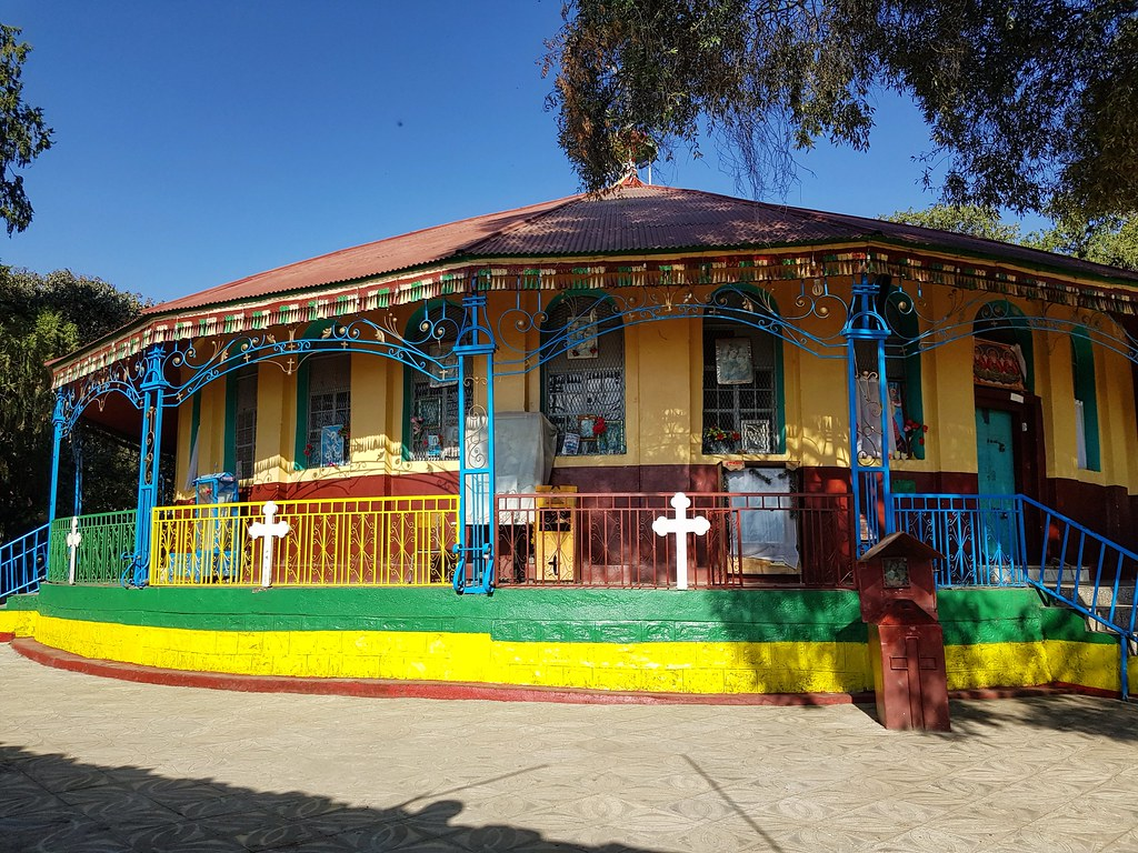 Kościół w Gondar, Etiopia