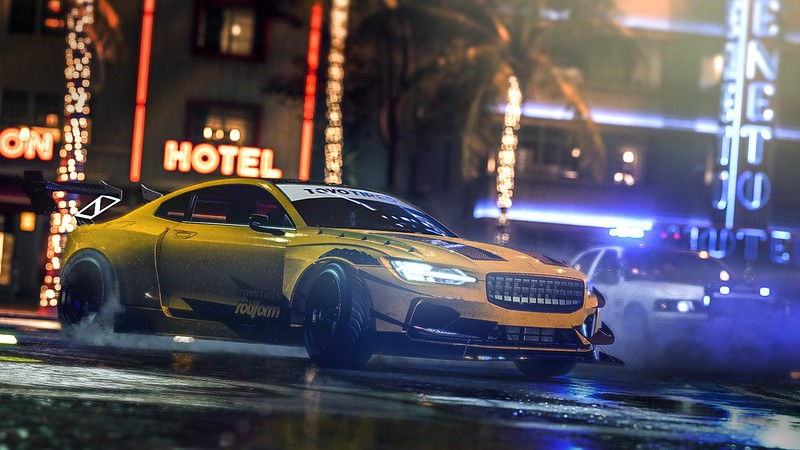 Need for Speed Heat on PS4