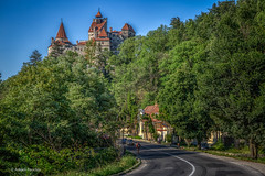The way to Dracula's Castle