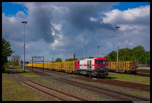 Independent Rail Partner 2102, Arnhem 26-04-2018