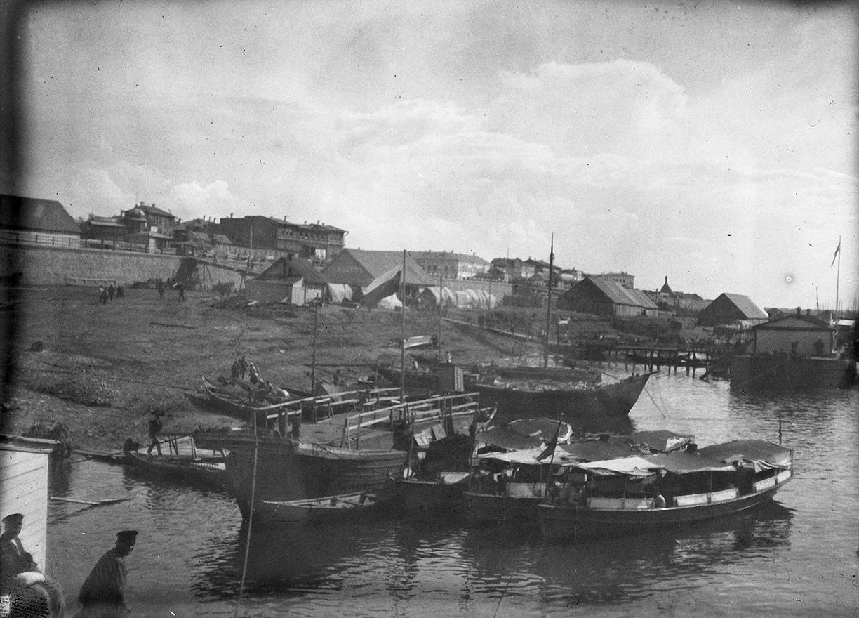 10. 1898. 3 июля. Самара. Пристань