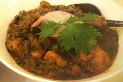 Methi Chicken, photo by Socially Superlative