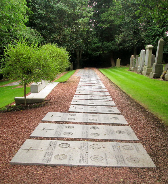 Flat Memorial Stones, Comely Bank Cemetery, Edinburgh