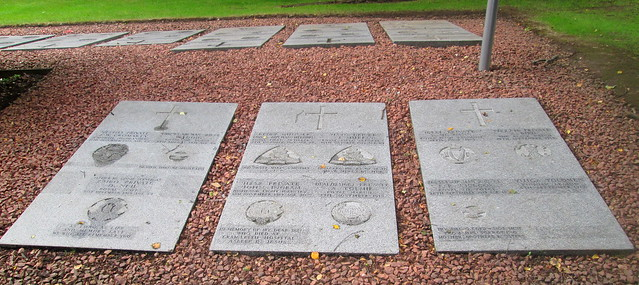 Comely Bank Cemetery, Edinburgh, Memorial Stones