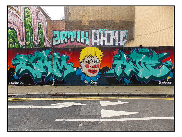 STREET ART by SAM SURE & ANTE LTD