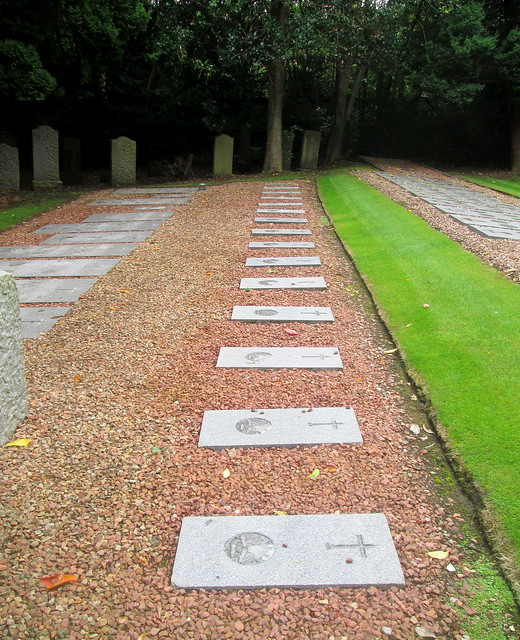 Comely Bank Cemetery, Edinburgh, More Flat Memorial Stones