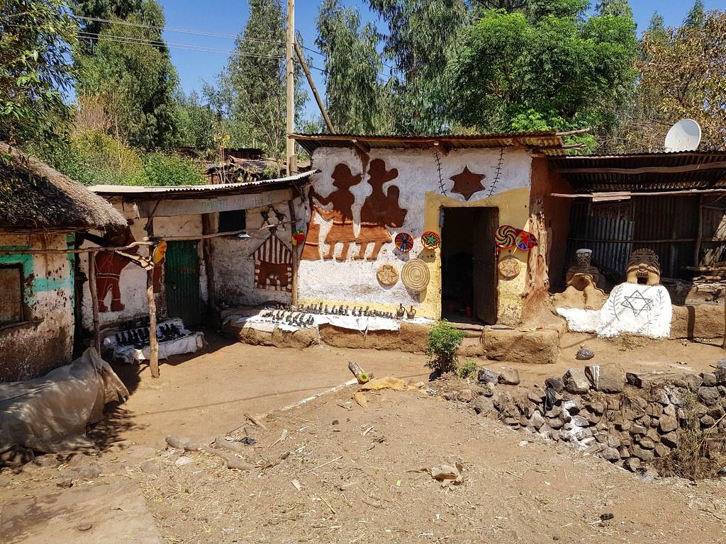 Wioska Fellaszy, Etiopia