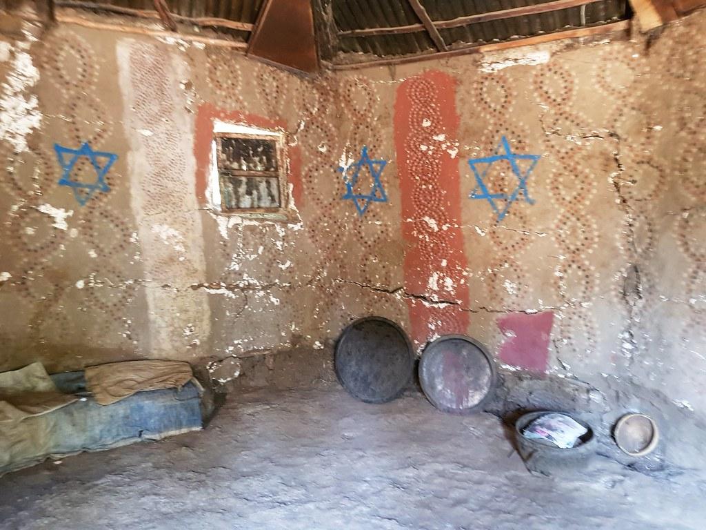 Synagoga w wiosce Fellaszy, Etiopia