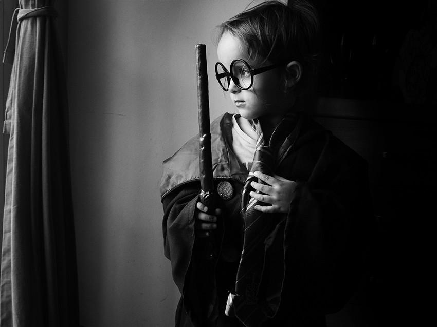 Pequeña Harry Potter