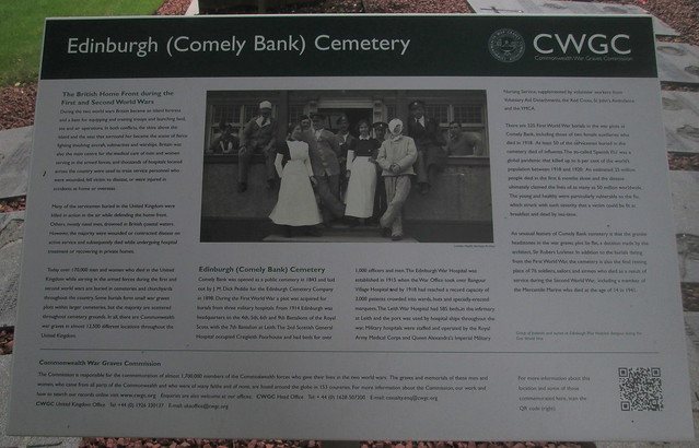 Commonweath War Graves Commission Information Board