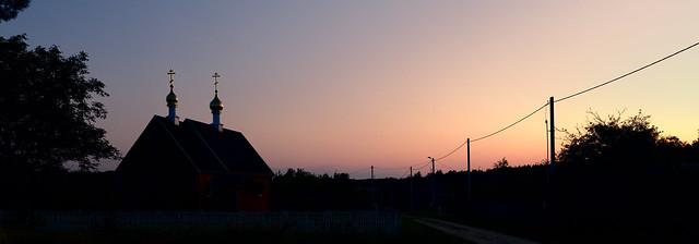 Village half-light / Деревенские сумерки