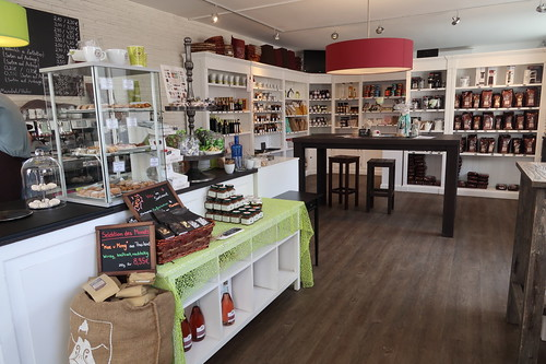 Ladengeschäft der Kaffee-Manufaktur Feinsinn in Bad Homburg