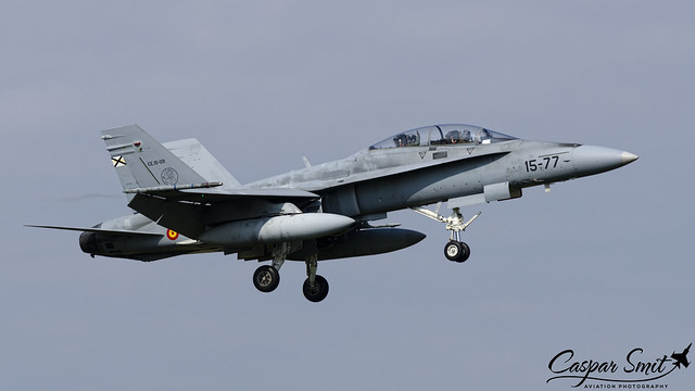 Ejército del Aire EF-18B Hornet