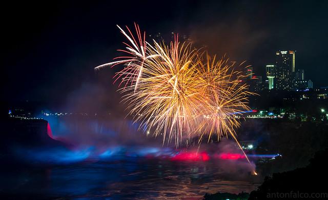 Niagara Falls on Canada Day