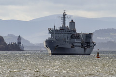 RFA Fort Rosalie, A385, IMO 7341283; Firth of Clyde, Scotland