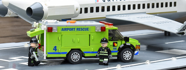 Lego Fire Airport Rescue 4