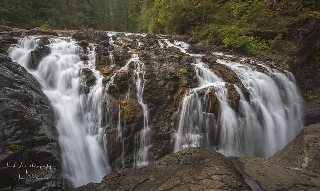 Upper Englishman River Falls, Errington, BC