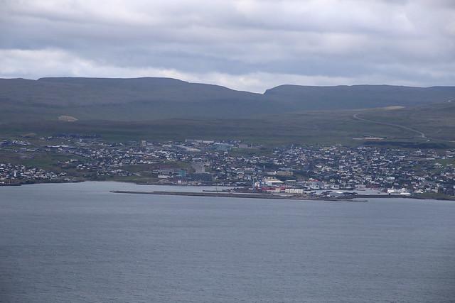 Tórshavn from Nólsoy