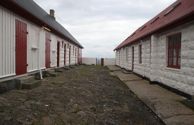 Borðan lighthouse out buildings