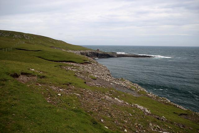 Near Borðan lighthouse, Nólsoy