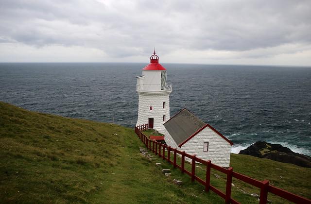 Borðan lighthouse, Nólsoy