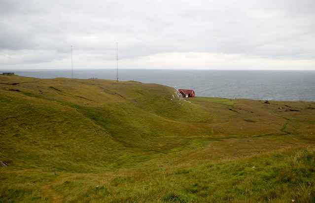 View from the path to Borðan lighthouse, Nólsoy