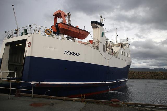 Ternan, the Nólsoy ferry