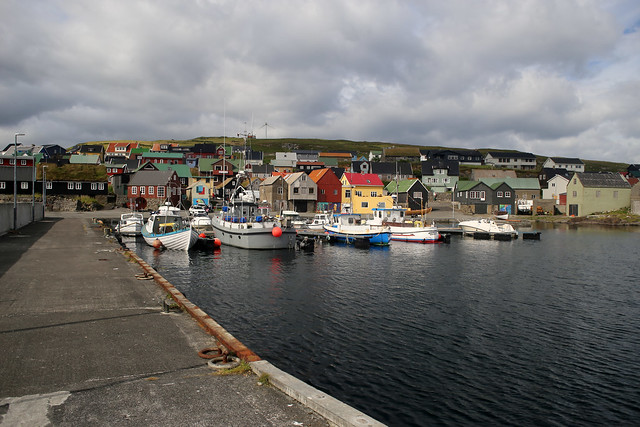 Nólsoy harbour