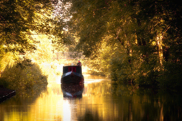 Macclesfield Canal at Bollington