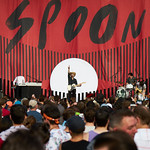Sat, 17/08/2019 - 6:00pm - Spoon broadcast on WFUV Public Radio from Forest Hills Stadium in New York City, 8/17/19. Photo by Gus Philippas/WFUV