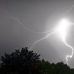 18. August 2019 - 21:04 - Lightning storm first with visible bolts August 18, 2019