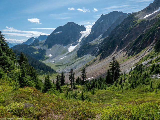 Looking East from Cascade Pass